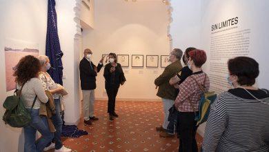 صورة افتتاح معرض فني أردني في قرطبة
