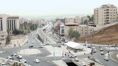 صورة مليون وربع مركبة خاصة في شوارع عمان نهاراً … بدء تشغيل الباص السريع في 12 آذار المقبل