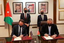 صورة توقيع اتفاقية تأسيس مكتب للوكالة البلجيكية للتنمية في عمان