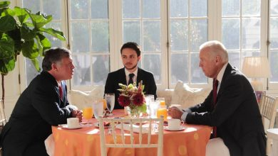 صورة الملك مهنئاً بايدن : نتطلع للعمل على تطوير الشراكة التاريخية بين الأردن والولايات المتحدة