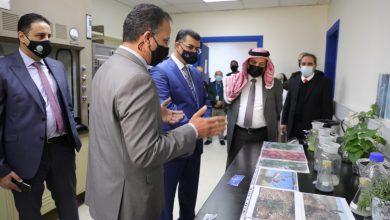 صورة وزير الزراعة يفتتح مختبر الأنسجة في البحوث الزراعية