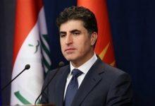 صورة رئيس إقليم كردستان العراق يصل إلى عمان