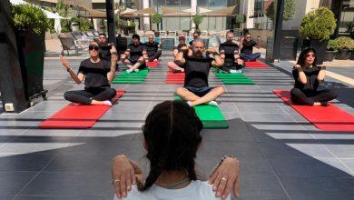 صورة Kempinski Hotel Amman celebrates Int'l Yoga Day