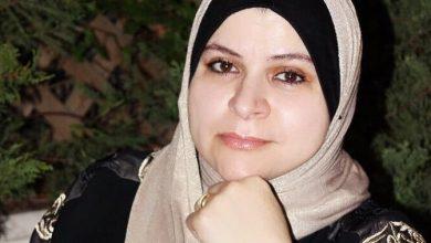 صورة أمسية شعرية في اتحاد الكتاب للشاعرة ابو شنب