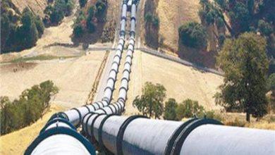 صورة توقف إمداد الغاز إلى المنطقة الجنوبية من سوريا بعد تعرضه لإعتداء